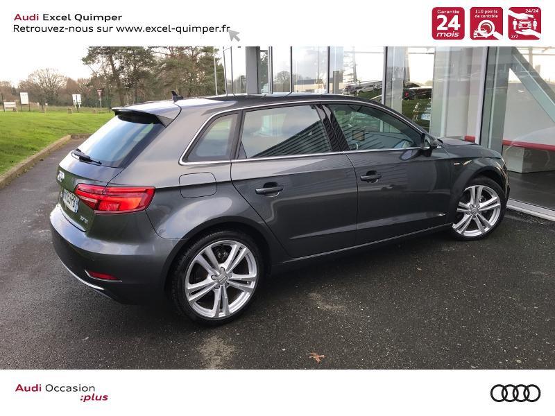 Photo 4 de l'offre de AUDI A3 Sportback 30 TDI 116ch S line Euro6d-T à 24990€ chez Excel automobiles - Audi Quimper