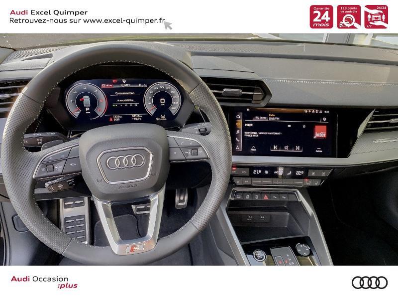 Photo 6 de l'offre de AUDI A3 Sportback 35 TDI 150ch S line S tronic 7 à 42500€ chez Excel automobiles - Audi Quimper