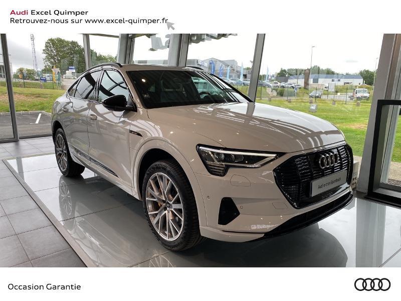 Audi e-tron Sportback 50 230ch Avus e-quattro Electrique BLANC GLACIER METAL Occasion à vendre