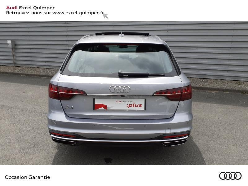 Photo 5 de l'offre de AUDI A4 Avant 35 TDI 163ch Avus S tronic 7 9cv à 40990€ chez Excel automobiles - Audi Quimper