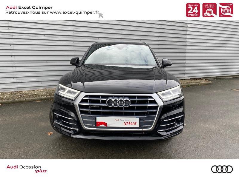 Photo 2 de l'offre de AUDI Q5 35 TDI 163ch S line quattro S tronic 7 Euro6dT à 47490€ chez Excel automobiles - Audi Quimper
