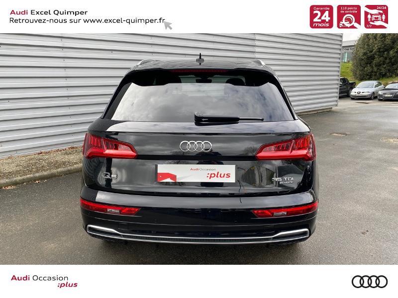 Photo 5 de l'offre de AUDI Q5 35 TDI 163ch S line quattro S tronic 7 Euro6dT à 47490€ chez Excel automobiles - Audi Quimper