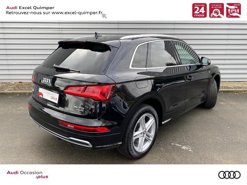 Photo 4 de l'offre de AUDI Q5 35 TDI 163ch S line quattro S tronic 7 Euro6dT à 47490€ chez Excel automobiles - Audi Quimper