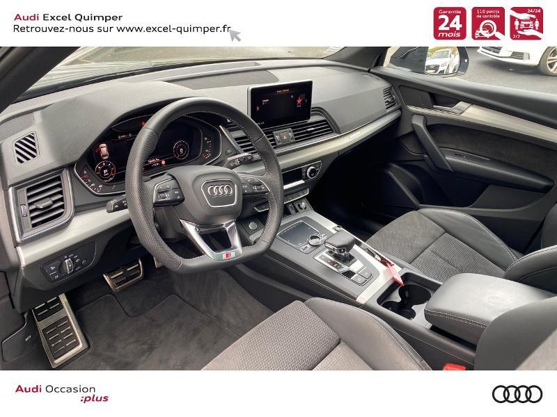 Photo 6 de l'offre de AUDI Q5 35 TDI 163ch S line quattro S tronic 7 Euro6dT à 47490€ chez Excel automobiles - Audi Quimper