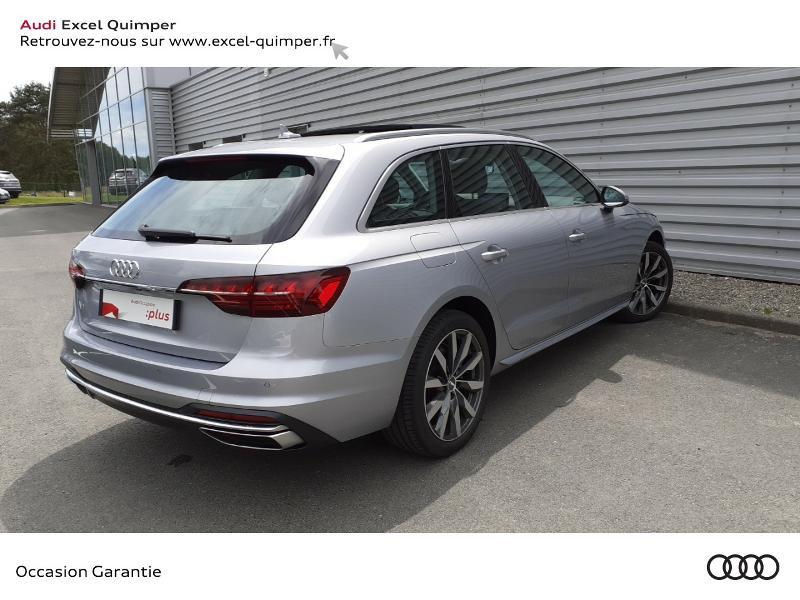 Photo 4 de l'offre de AUDI A4 Avant 35 TDI 163ch Avus S tronic 7 9cv à 40990€ chez Excel automobiles - Audi Quimper