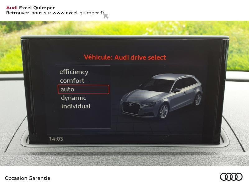 Photo 12 de l'offre de AUDI A3 Sportback 30 TDI 116ch Sport Euro6d-T à 22990€ chez Excel automobiles - Audi Quimper