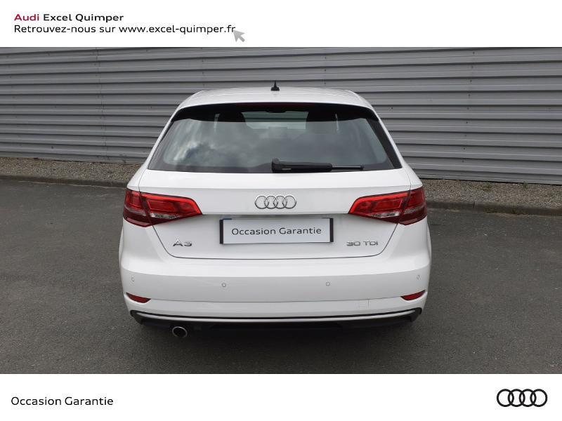 Photo 5 de l'offre de AUDI A3 Sportback 30 TDI 116ch Sport Euro6d-T à 22990€ chez Excel automobiles - Audi Quimper