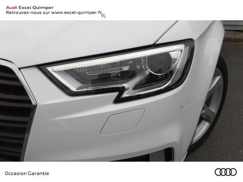 Photo 9 de l'offre de AUDI A3 Sportback 30 TDI 116ch Sport Euro6d-T à 22990€ chez Excel automobiles - Audi Quimper