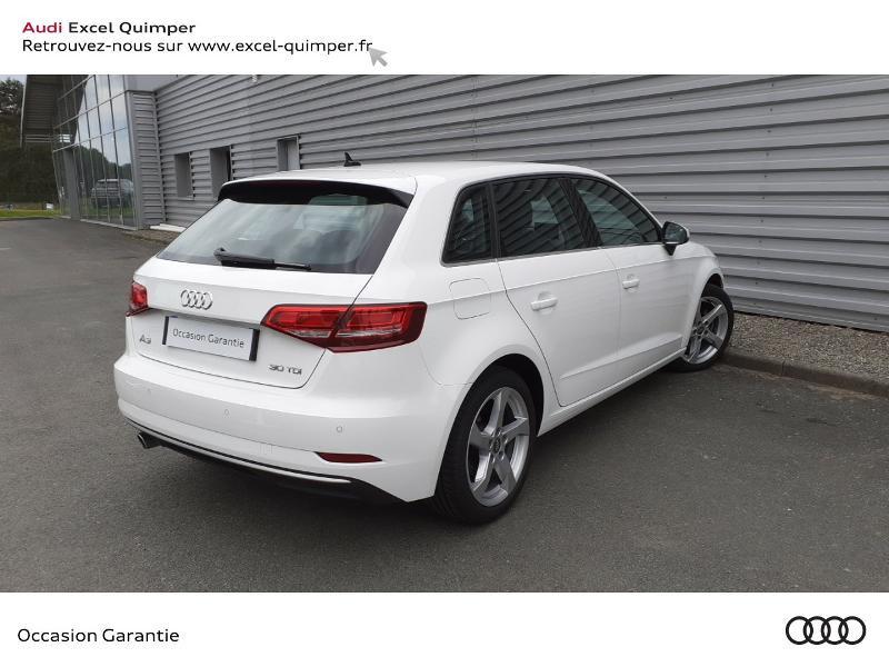 Photo 4 de l'offre de AUDI A3 Sportback 30 TDI 116ch Sport Euro6d-T à 22990€ chez Excel automobiles - Audi Quimper