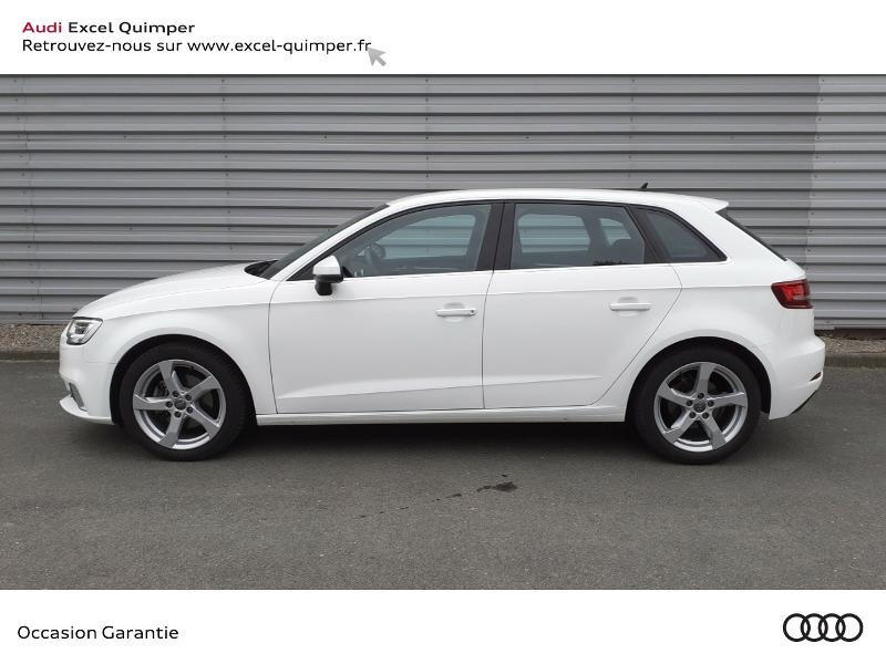 Photo 3 de l'offre de AUDI A3 Sportback 30 TDI 116ch Sport Euro6d-T à 22990€ chez Excel automobiles - Audi Quimper