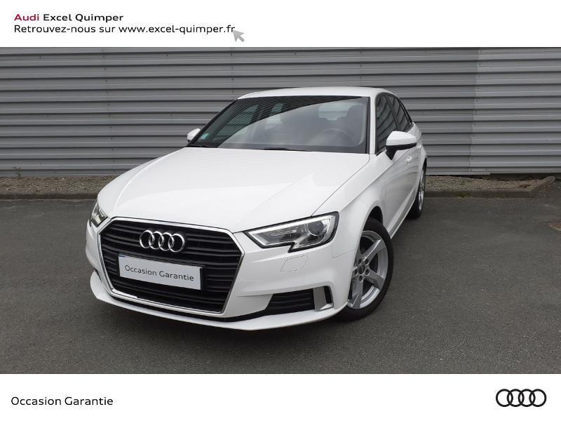 Photo 1 de l'offre de AUDI A3 Sportback 30 TDI 116ch Sport Euro6d-T à 22990€ chez Excel automobiles - Audi Quimper