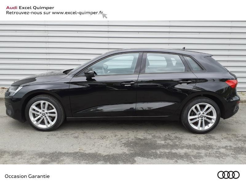 Photo 3 de l'offre de AUDI A3 Sportback 35 TDI 150ch Design S tronic 7 à 31990€ chez Excel automobiles - Audi Quimper