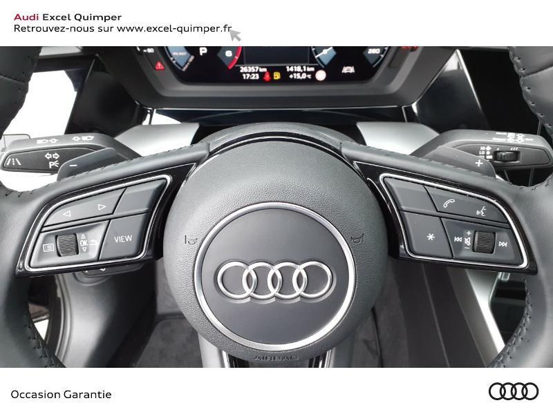 Photo 17 de l'offre de AUDI A3 Sportback 35 TDI 150ch Design S tronic 7 à 31990€ chez Excel automobiles - Audi Quimper