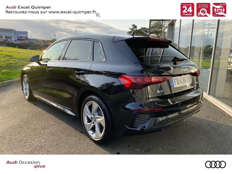 Photo 4 de l'offre de AUDI A3 Sportback 35 TDI 150ch S line S tronic 7 à 42500€ chez Excel automobiles - Audi Quimper