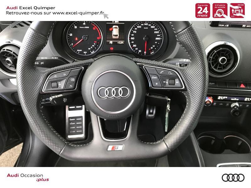 Photo 17 de l'offre de AUDI A3 Sportback 30 TDI 116ch S line Euro6d-T à 24990€ chez Excel automobiles - Audi Quimper