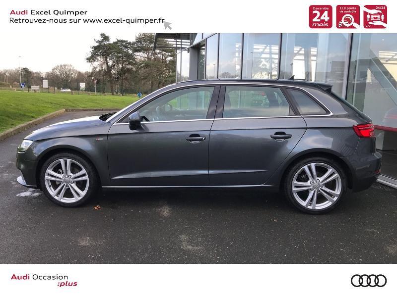 Photo 3 de l'offre de AUDI A3 Sportback 30 TDI 116ch S line Euro6d-T à 24990€ chez Excel automobiles - Audi Quimper