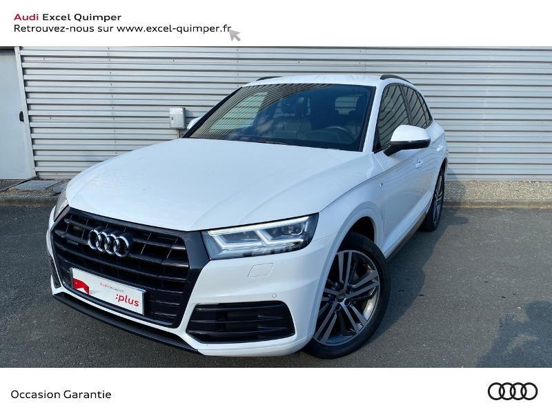 Audi Q5 2.0 TDI 190ch S line quattro S tronic 7 Euro6d-T Diesel Blanc ibis Occasion à vendre