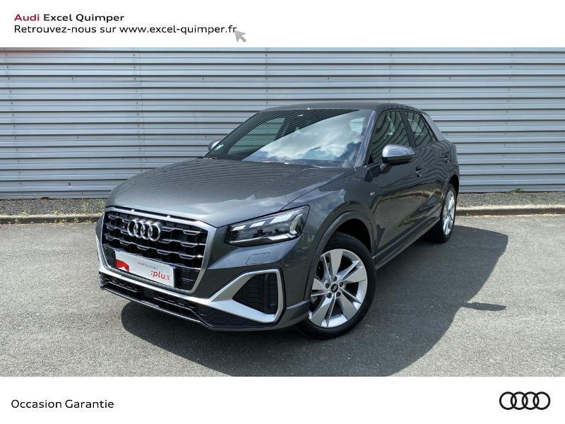 Audi Q2 35 TFSI 150ch COD S line Essence GRIS DAYTONA Occasion à vendre