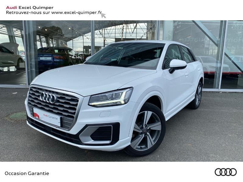 Audi Q2 35 1.4 TFSI 150ch COD Design luxe S tronic 7 Essence BLANC IBIS Occasion à vendre