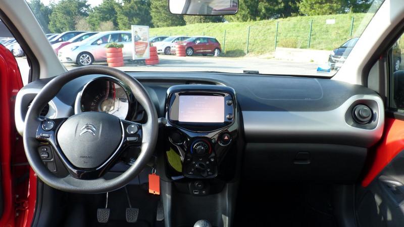 Photo 8 de l'offre de CITROEN C1 AIRSCAPE VTI 68 FEEL 3P à 8450€ chez Vent d'ouest automobiles
