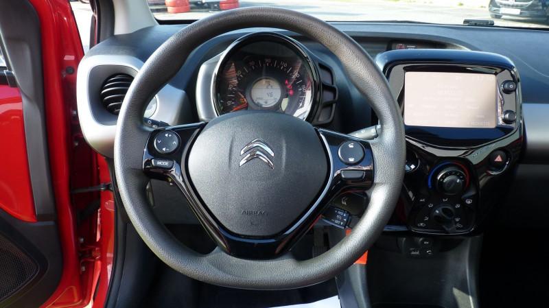 Photo 11 de l'offre de CITROEN C1 AIRSCAPE VTI 68 FEEL 3P à 8450€ chez Vent d'ouest automobiles