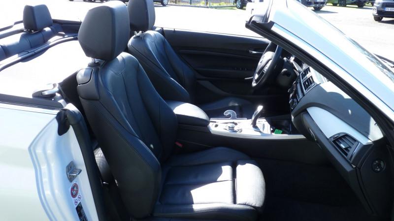 Photo 5 de l'offre de BMW SERIE 2 CABRIOLET (F23) 218DA 150CH LUXURY à 22450€ chez Vent d'ouest automobiles
