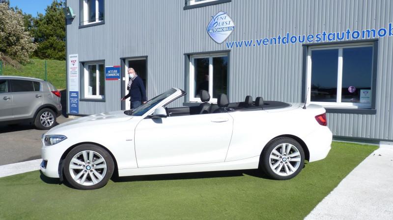 Photo 2 de l'offre de BMW SERIE 2 CABRIOLET (F23) 218DA 150CH LUXURY à 22450€ chez Vent d'ouest automobiles