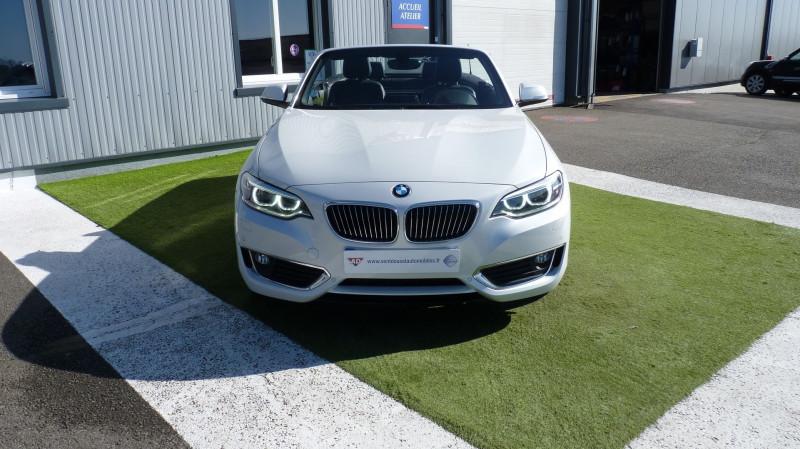 Photo 3 de l'offre de BMW SERIE 2 CABRIOLET (F23) 218DA 150CH LUXURY à 22450€ chez Vent d'ouest automobiles