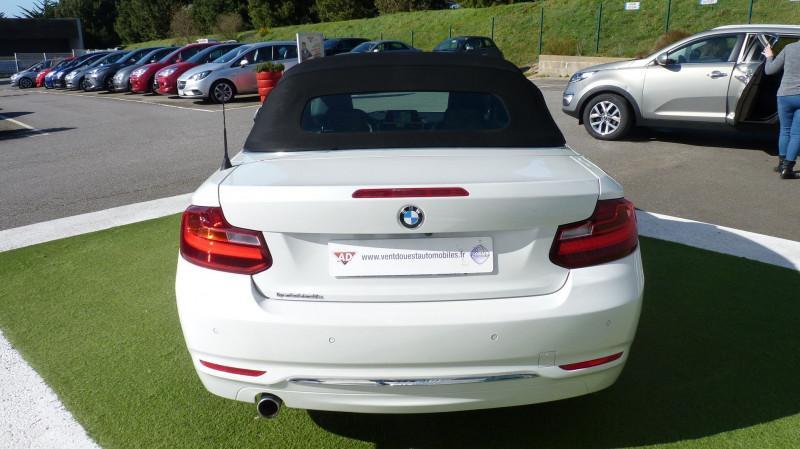 Photo 12 de l'offre de BMW SERIE 2 CABRIOLET (F23) 218DA 150CH LUXURY à 22450€ chez Vent d'ouest automobiles