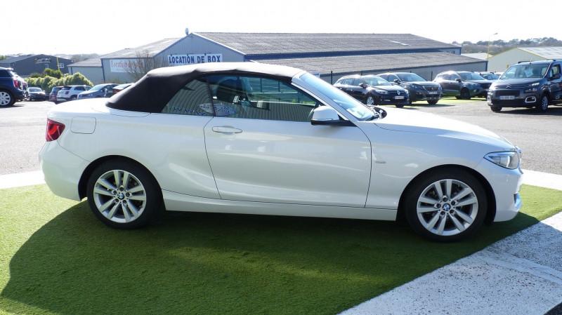 Photo 13 de l'offre de BMW SERIE 2 CABRIOLET (F23) 218DA 150CH LUXURY à 22450€ chez Vent d'ouest automobiles