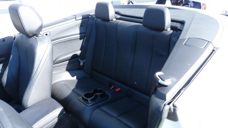 Photo 6 de l'offre de BMW SERIE 2 CABRIOLET (F23) 218DA 150CH LUXURY à 22450€ chez Vent d'ouest automobiles
