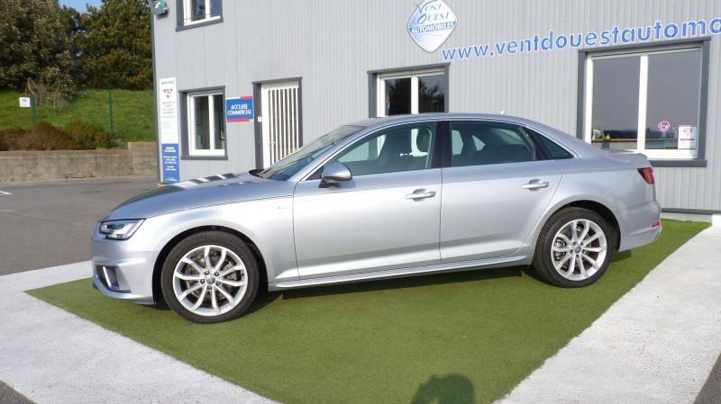 Photo 2 de l'offre de AUDI A4 2.0 TDI 150CH S LINE S TRONIC 7 à 28750€ chez Vent d'ouest automobiles