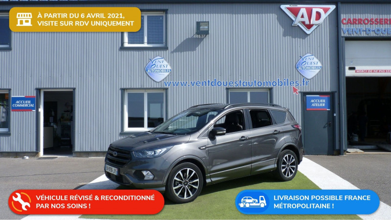 Ford KUGA 2.0 TDCI 150CH STOP&START ST-LINE 4X4 POWERSHIFT Diesel GRIS MAGNETIC Occasion à vendre
