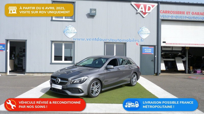 Mercedes-Benz CLA SHOOTING BRAKE 200 BUSINESS EXECUTIVE EDITION 7G-DCT EURO6D-T Essence GRIS FONCE METAL Occasion à vendre