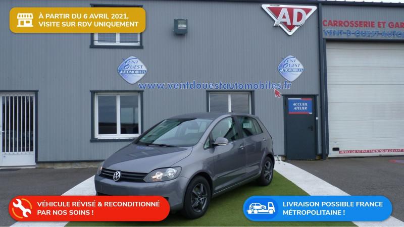 Photo 1 de l'offre de VOLKSWAGEN GOLF PLUS 1.6 TDI 105CH FAP CONFORTLINE à 9750€ chez Vent d'ouest automobiles