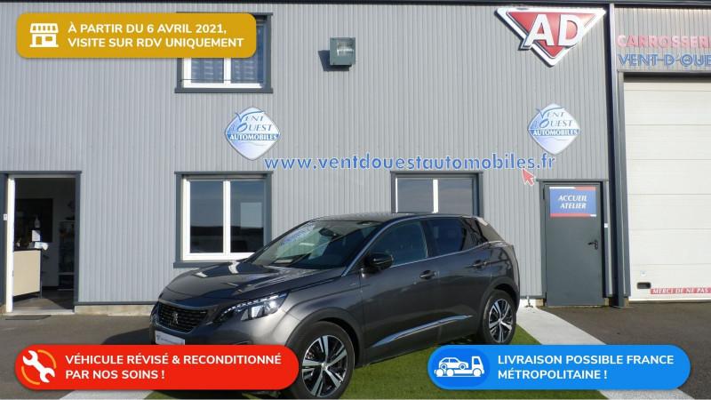 Photo 1 de l'offre de PEUGEOT 3008 1.5 BLUEHDI 130CH E6.C GT LINE S&S à 24990€ chez Vent d'ouest automobiles
