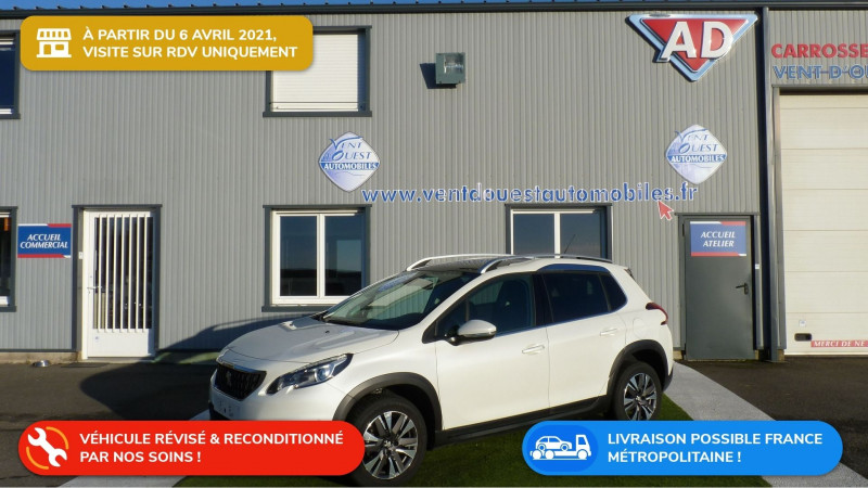 Peugeot 2008 1.6 BLUEHDI 100CH ALLURE Diesel BLANC NACRE Occasion à vendre