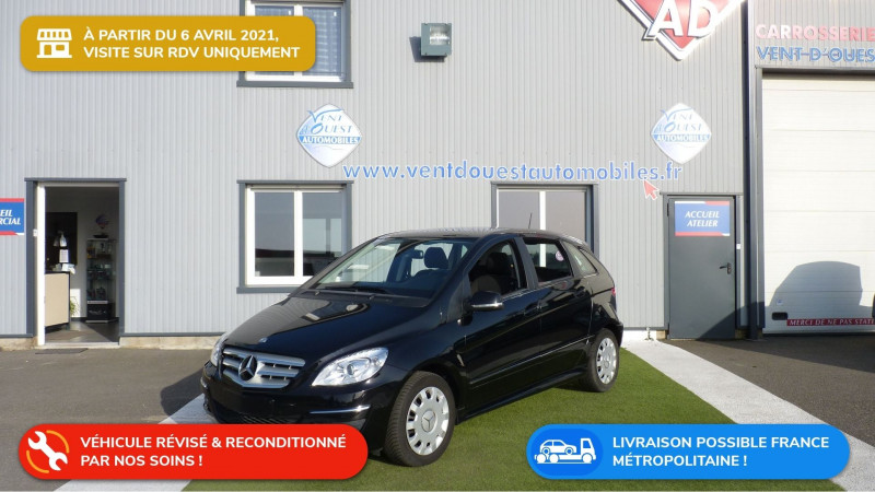 Mercedes-Benz CLASSE B (T245) 200 CLASSIC CONTACT CVT Essence NOIR COSMOS Occasion à vendre