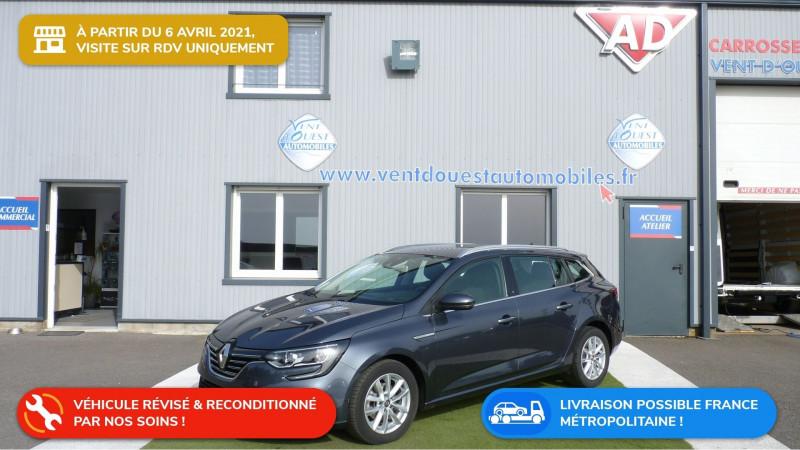 Renault MEGANE IV ESTATE 1.5 BLUE DCI 115CH INTENS Diesel GRIS TITANIUM Occasion à vendre