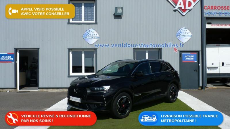 Ds DS 7 CROSSBACK BLUEHDI 130CH  PERFORMANCE LINE Diesel NOIR PERLA NERA Occasion à vendre