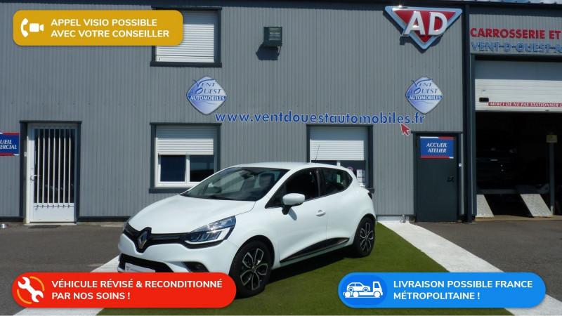 Renault CLIO IV 0.9 TCE 90CH ENERGY INTENS 5P Essence BLANC Occasion à vendre