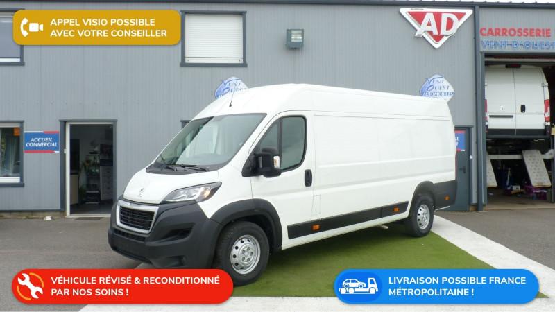 Peugeot BOXER FG 435 L4H2 2.0 BLUEHDI 160 S&S PREMIUM Diesel BLANC Occasion à vendre