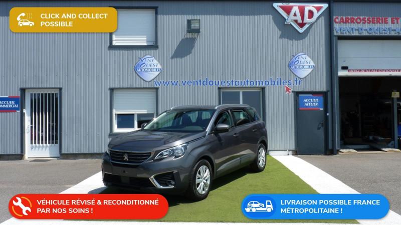 Peugeot 5008 1.5 BLUEHDI 130CH E6.C ACTIVE BUSINESS S&S EAT8 Diesel GRIS PLATINIUM Occasion à vendre