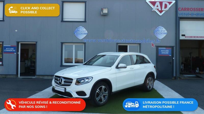 Mercedes-Benz GLC 250 D 204CH EXECUTIVE 4MATIC 9G-TRONIC Diesel BLANC NACRE Occasion à vendre