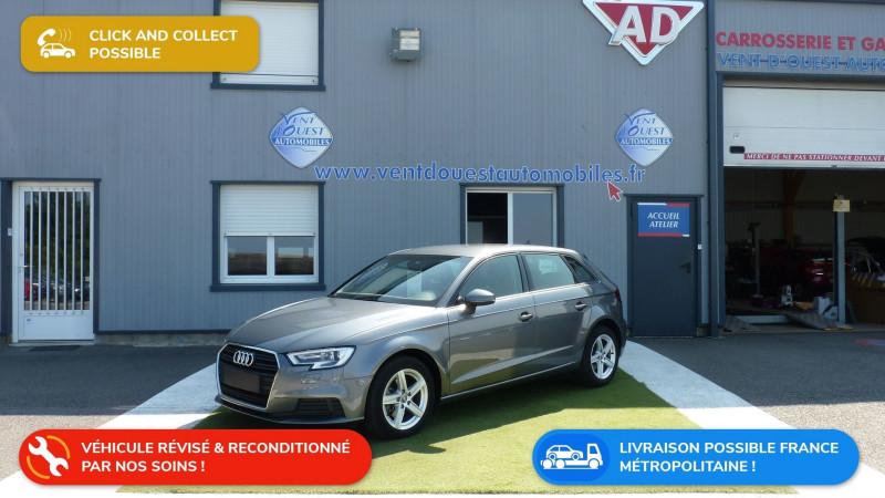 Audi A3 SPORTBACK 30 TDI 116CH BUSINESS LINE EURO6D-T 109G Diesel GRIS MOUSSON Occasion à vendre
