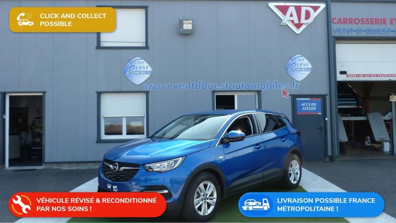 Opel GRANDLAND X 1.5 D 130CH OPEL 2020 BVA8 Diesel BRIGHT BLUE Occasion à vendre