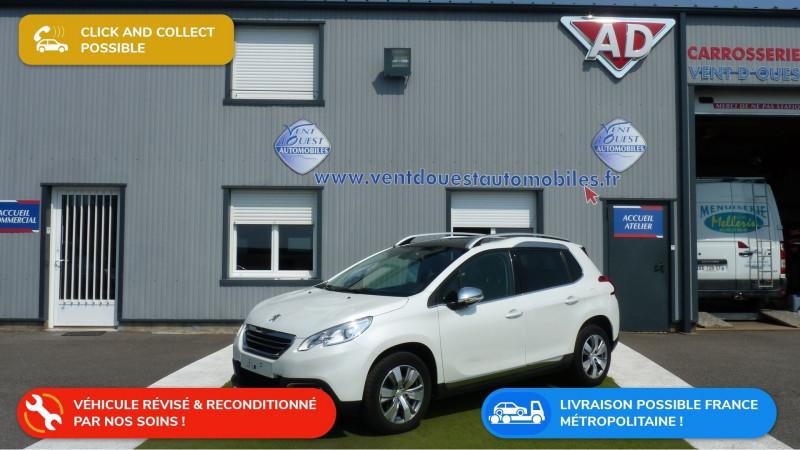 Peugeot 2008 1.6 VTI ALLURE BVA Essence BLANC NACRE Occasion à vendre