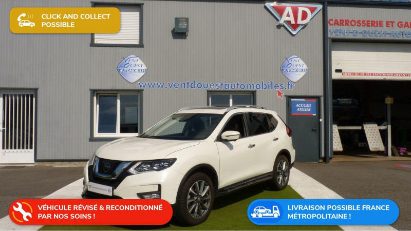 Nissan X-TRAIL 1.6 DCI 130CH DISTINCTION ALL-MODE 4X4-I Diesel BLANC NACRE Occasion à vendre