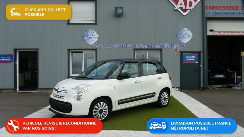 Fiat 500L 1.4 16V 95CH EASY Essence BLANC/TOIT NOIR Occasion à vendre