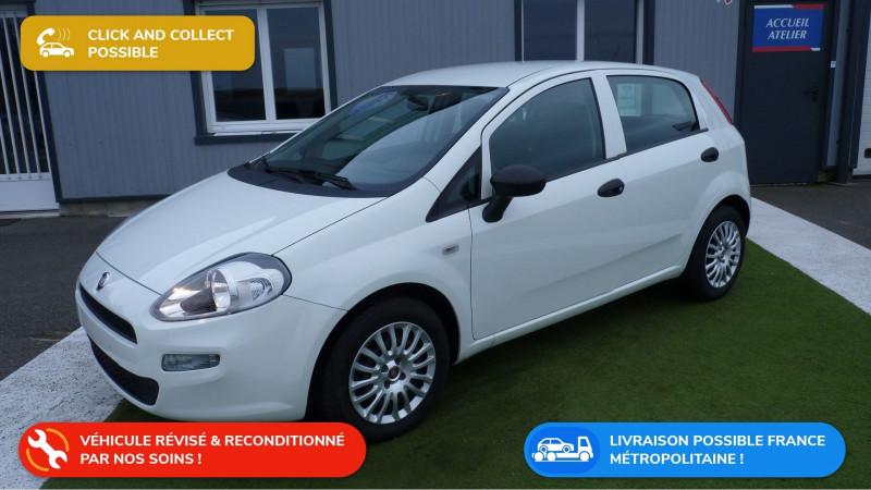 Fiat PUNTO 1.2 8V 69CH LOUNGE 5P Essence BLANC Occasion à vendre